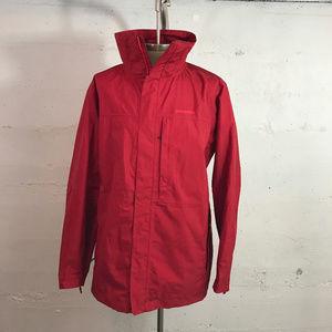 Men's Patagonia Jacket sz. XL Burnt Brick Red H2No